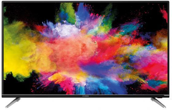Фото - Телевизор LED Hyundai 50 H-LED50EU7008 черный/Ultra HD/60Hz/DVB-T2/DVB-C/DVB-S2/USB/WiFi/Smart TV (RUS) телевизор led hyundai 55 h led55fu7001 яндекс черный ultra hd 60hz dvb t dvb t2 dvb c dvb s2 usb wifi smart tv rus