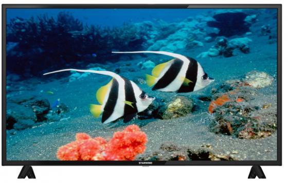 Фото - Телевизор LED 43 StarWind SW-LED43BA201 черный 1920x1080 60 Гц SCART VGA led телевизор starwind sw led24r301bt2