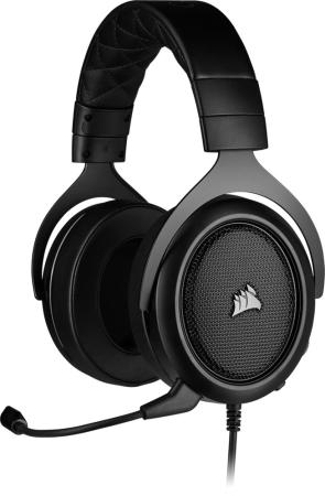 Игровая гарнитура Corsair Gaming™ HS60 PRO SURROUND Gaming Headset, Carbon компьютерная гарнитура thrustmaster y400x wireless gaming headset 4460089