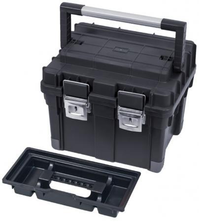 цены Ящик PATROL GROUP HD Compact 1 SKRC1HDCZAPG001 для инструментов 45х35х35см черный