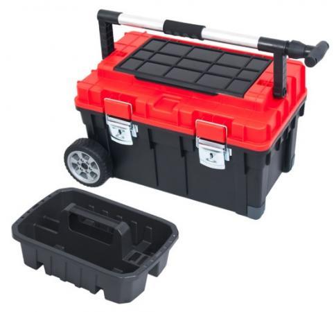 цена на Ящик PATROL GROUP Wheelbox HD Trophy 2 SKRWT2HDCZEPG001 колеса 63х40х36см, телескоп.ручка