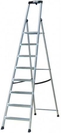 Стремянка KRAUSE SOLIDO 8 ступеней раб. высота 3,70 м стремянка krause solido 7 ступеней раб высота 3 50 м