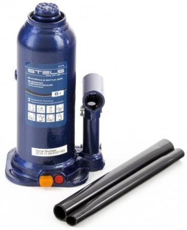 Домкрат гидравлический бутылочный, 6 т, h подъема 207–404 мм, в пласт. кейсе// Stels