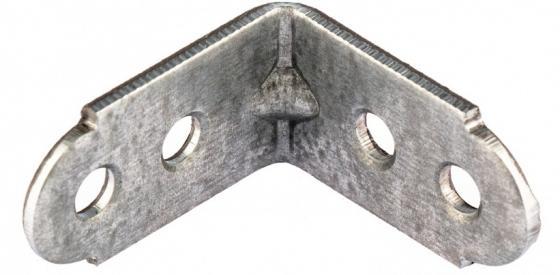 Уголок мебельный усиленный, 30х30х16 мм, цинк, Россия// Сибртех
