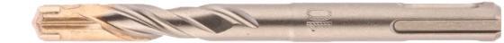 Фото - Бур по бетону QUADRO, 10 x 110 мм, SDS PLUS// Gross бур по бетону pro 8 x 110 мм sds plus gross