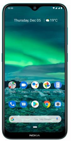 "Смартфон NOKIA 2.3 бирюзовый 6.2"" 32 Гб LTE Wi-Fi GPS 3G Bluetooth смартфон lenovo sisley s90 серый графитовый 5 32 гб lte wi fi gps 3g p0s3000nru"