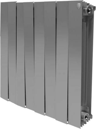 Радиатор Royal Thermo PianoForte 500 new/Silver Satin - 8 секц.