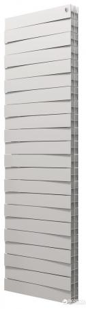 Радиатор Royal Thermo PianoForte Tower new/Silver Satin - 22 секц.