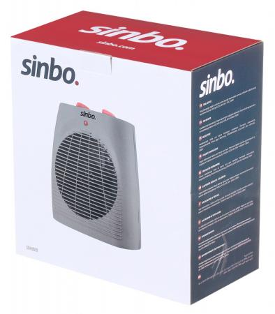 Тепловентилятор Sinbo SFH 6929 2000Вт серый/оранжевый