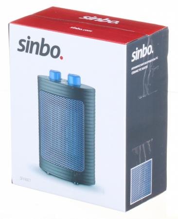 Тепловентилятор Sinbo SFH 6927 1500Вт черный/синий