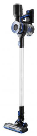 лучшая цена Вертикальный пылесос KITFORT KT-546 сухая уборка чёрный синий