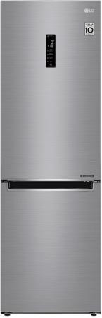 Холодильник LG GA-B459MMQZ серебристый (двухкамерный)