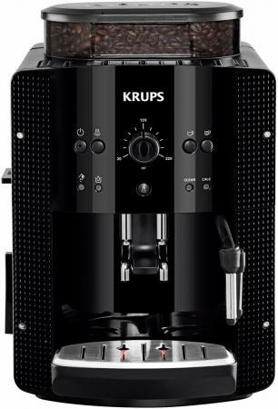 Кофемашина Krups EA81R870 1500 Вт черный кофемашина krups ea894t10 серебристый