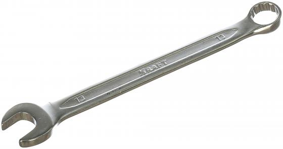 KRAFT Ключ комбинированный 13мм (Cr-V, холодный штамп, холдер) [KT 700507] ключ kraft kt 701007