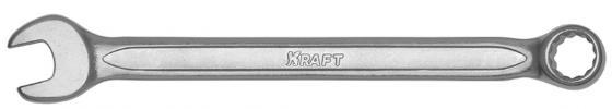 KRAFT Ключ комбинированный 15мм (Cr-V, холодный штамп, холдер) [KT 700509] ключ kraft kt 701007