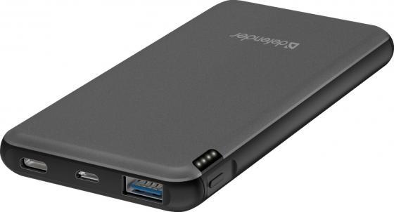 Фото - Defender Внешний аккумулятор ExtraLife Fast 10000D USB: QC3.0, Type-C/PD,10000mAh (83664) внешний аккумулятор rivapower va2010 10000mah