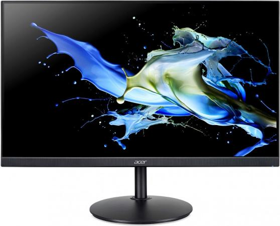 МОНИТОР 23.8 Acer CB242Ybmiprx Black с поворотом экрана (IPS, LED, Wide, 1920x1080, 75Hz, 1ms, 178°/178°, 250 cd/m, 100 монитор acer 24 cb242ybmiprx um qb2ee 001 black
