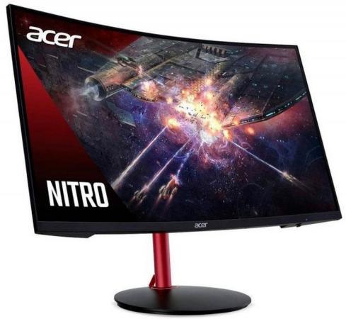 МОНИТОР 27 Acer Gaming Nitro XZ272UPbmiiphx Black Сurved (LED, Wide, 2560x1440, 144Hz, 4ms, 178°/178°, 270 cd/m, 100,00 монитор acer gaming xz271uabmiiphzx black