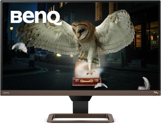 Монитор 27 BENQ EW2780U черный IPS 3840x2160 350 cd/m^2 5 ms HDMI DisplayPort USB Type-C Аудио 9H.LJ7LA.TBE монитор benq ew2780u