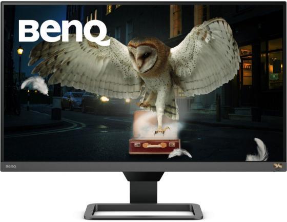 МОНИТОР 27 BenQ EW2780Q Metallic Grey-Black (IPS, 2560x1440, HDR, 5 ms, 178°/178°, 350 cd/m, 20M:1, +2xHDMI 2.0, +Displ монитор benq 23 8 ew2480 black metallic grey 9h lj3la tse