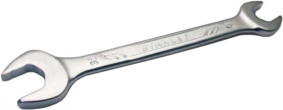 РОЖКОВЫЙ КЛЮЧ 8Х10 ММ STMT72839-8 Stanley ключ рожковый stanley 8х10 мм
