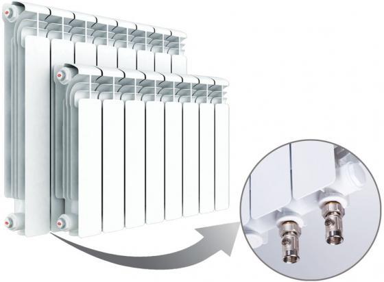Радиатор RIFAR Alum 350 х 8 сек VL собранный радиатор rifar alum 500 х14 сек vl собранный