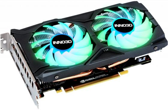 Купить Видеокарта 6Gb <PCI-E> Inno3D GeForce GTX 1660 Twin X2 OC RGB N16602-06D5X-1521VA15LB <GTX1660, GDDR6, 192bit, HDMI, DP*3, retail>