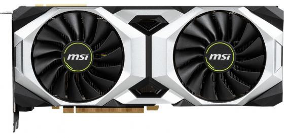 Видеокарта MSI PCI-E RTX 2080 Ti VENTUS GP OC nVidia GeForce RTX 2080Ti 11264Mb 352bit GDDR6 1350/14000/HDMIx1/DPx3/Type-Cx1/HDCP Ret