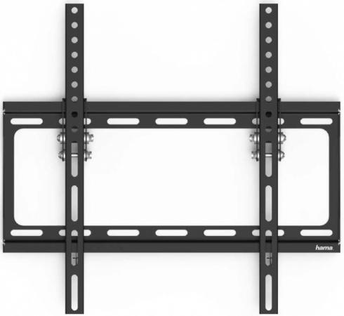 Фото - Кронштейн для телевизора Hama H-118069 черный 32-75 макс.40кг настенный фиксированный кронштейн для телевизора arm media steel 5 черный 15 47 макс 40кг настенный фиксированный