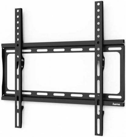 Фото - Кронштейн для телевизора Hama H-118068 черный 32-65 макс.35кг настенный фиксированный кронштейн для телевизора hama ultraslim h 11757 32 56 настенный фиксированный