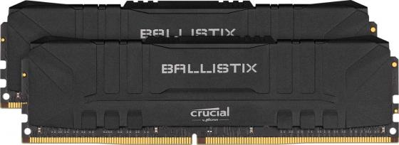 Crucial DDR4 DIMM 16GB Kit 2x8Gb BL2K8G30C15U4B PC4-24000, 3000MHz, CL15, Ballistix RGB crucial 16gb kit 8gbx2 ddr4 3600mt s cl16 unbuffered dimm 288 pin ballistix black
