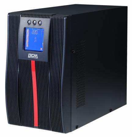 Источник бесперебойного питания Powercom Macan MAC-1500 1500Вт 1500ВА черный источник бесперебойного питания eaton 9sx 1500i 1350вт 1500ва