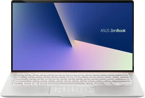 Ноутбук Asus Zenbook UX433FN-A5358T Core i5 8265U/8Gb/SSD512Gb/nVidia GeForce Mx150 2Gb/14/FHD (1920x1080)/Windows 10/silver/WiFi/BT/Cam ноутбук asus zenbook ux333fn a3052r royal blue 90nb0jw1 m02180 intel core i7 8565u 1 8ghz 8192mb 512gb ssd no odd nvidia geforce mx150 2048mb wi fi bluetooth cam 13 3 1920x1080 windows 10 64 bit