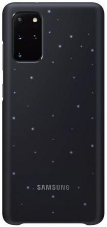 Чехол (клип-кейс) Samsung для Samsung Galaxy S20+ Smart LED Cover черный (EF-KG985CBEGRU) клип кейс oxy fashion fine для samsung galaxy j5 2016 прозрачный