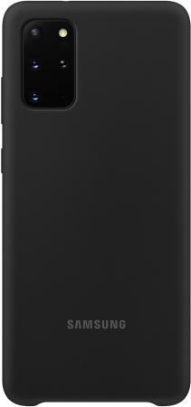 цена Чехол (клип-кейс) Samsung для Samsung Galaxy S20+ Silicone Cover черный (EF-PG985TBEGRU) онлайн в 2017 году