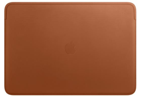 Leather Sleeve for 16-inch MacBook Pro – Saddle Brown чехол apple leather sleeve for macbook pro 16 mwv92zm a saddle brown
