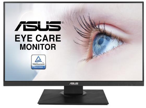 "Монитор 24"" ASUS VA24DQLB черный IPS 1920x1080 250 cd/m^2 5 ms (G-t-G) HDMI VGA DisplayPort Аудио USB 90LM0541-B01370 монитор 27 asus pb277q черный tn 2560x1440 350 cd m^2 1 ms g t g dvi hdmi vga displayport аудио 90lm00f0 b01670"