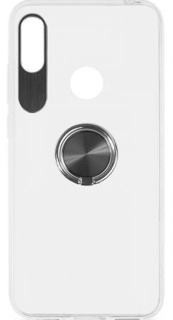 Чехол с кольцом-держателем для Huawei Honor 8A/Y6 (2019) DF hwTRing-01 (black) аксессуар чехол для huawei y6 2018 smarterra shellcase black schy618bk