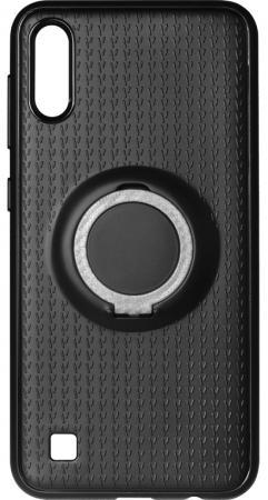 Чехол с кольцом-держателем для Samsung Galaxy A10 DF sBlackRing-01 (black)