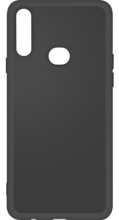 Чехол-накладка для Samsung Galaxy A10s DF sOriginal-04 Black клип-кейс, силикон, микрофибра чехол клип кейс df soriginal 16 для samsung galaxy m51 черный [df soriginal 16 black ]