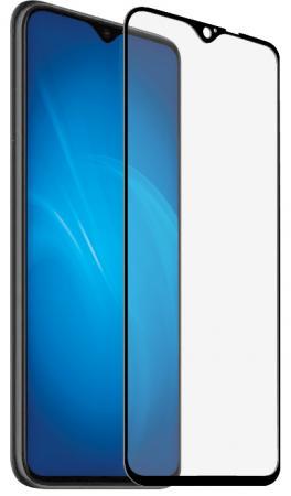 Купить Закаленное стекло с цветной рамкой DF xiColor-67 black (fullscreen+fullglue) для Xiaomi Redmi Note 8 Pro