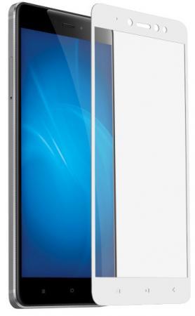 Закаленное стекло с цветной рамкой (fullscreen) для Xiaomi Redmi Note 5A DF xiColor-17 (white) цена 2017
