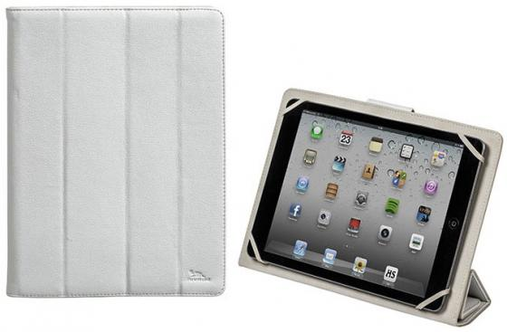 Чехол-книжка универсальный для планшета Riva 3117 White книжка, полиуретан