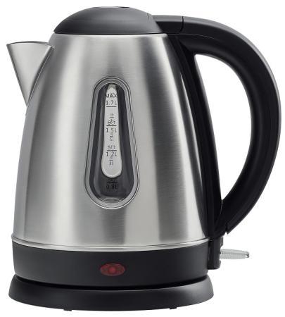Чайник электрический Polaris PWK 1753CA 2200 Вт стальной 1.7 л нержавеющая сталь чайник электрический polaris pwk 1763ca