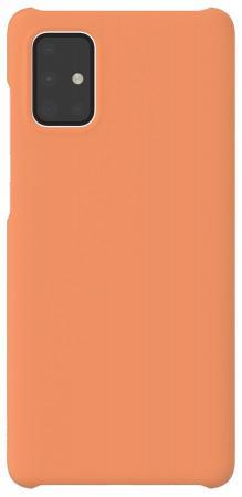 Чехол (клип-кейс) Samsung для Samsung Galaxy A71 WITS Premium Hard Case оранжевый (GP-FPA715WSAOR) фото