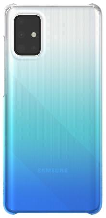 Чехол (клип-кейс) Samsung для Samsung Galaxy A71 WITS Gradation Hard Case синий (GP-FPA715WSBLR) фото