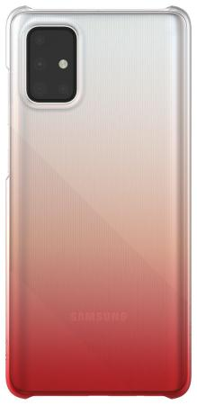 Чехол (клип-кейс) Samsung для Samsung Galaxy A71 WITS Gradation Hard Case красный (GP-FPA715WSBRR) фото