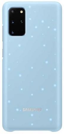 Чехол (клип-кейс) Samsung для Galaxy S20+ Smart LED Cover голубой (EF-KG985CLEGRU)