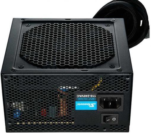 цена на Блок питания Seasonic ATX 500W S12III-500 (SSR-500GB3) 80+ bronze (24+4+4pin) APFC 120mm fan 4xSATA Cab Manag RTL
