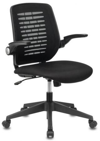 Кресло Бюрократ CH-495/BLACK спинка сетка черный TW-01 NEO сетка/ткань цена и фото